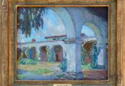 Alson Clark Painting Framed