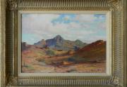 Anna Hills Painting Framed