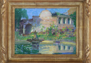 Arthur Rider Painting Framed