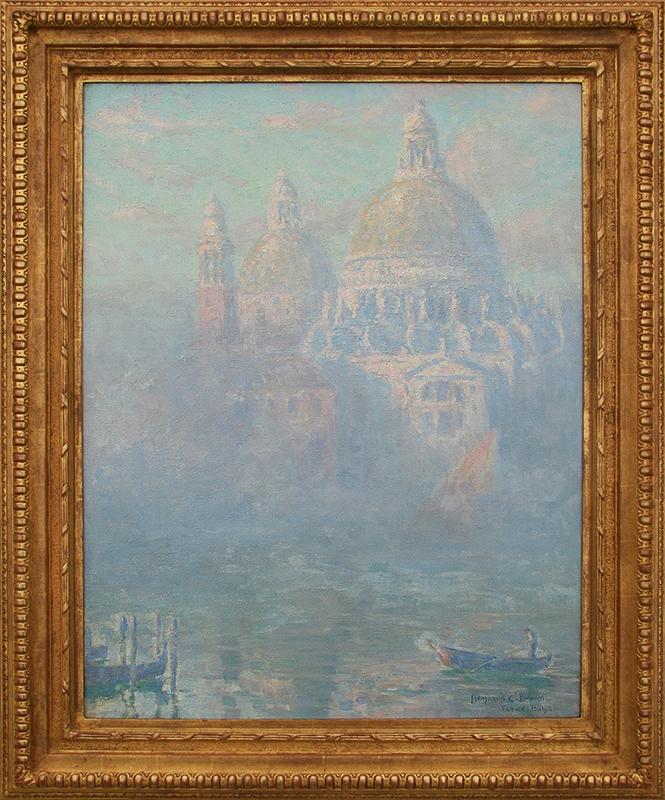 benjamin-brown-painting-framed