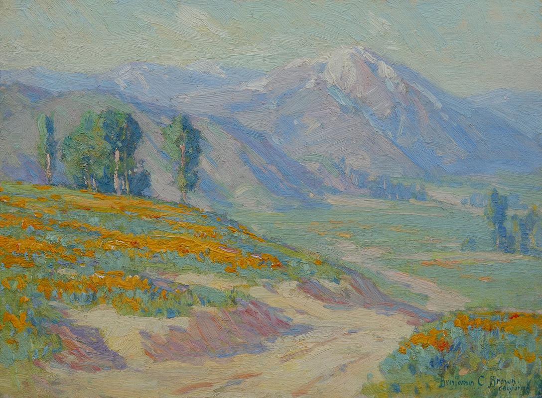 benjamin-brown-poppies-painting