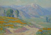 Benjamin Brown Poppies Painting