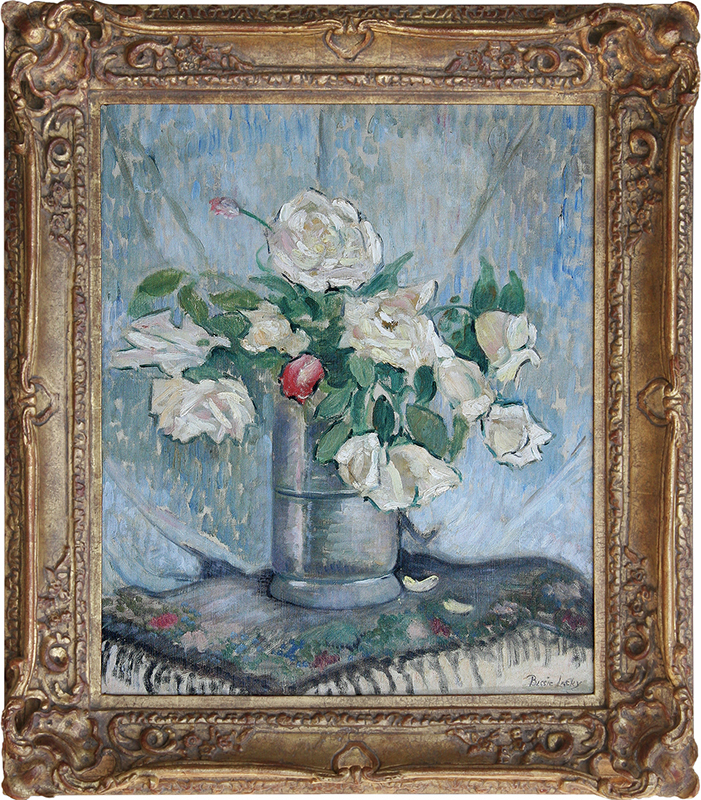 bessie-lasky-painting-framed