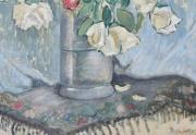 Bessie Lasky Painting Closeup