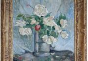 Bessie Lasky Painting Framed