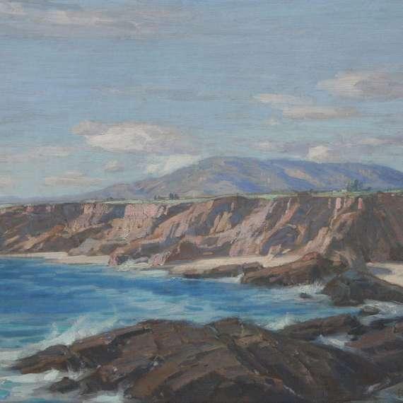 Carl Oscar Borg 'California Coastal'