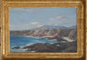 Carl Oscar Borg Painting Framed