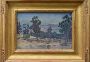 Charles Fries Painting Framed