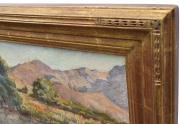 Charles Fries Painting Frame Corner