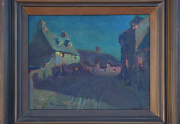 Charles Rollo Peters Nocturne Painting