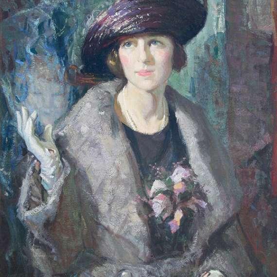 Christian von Schneidau 'An Appeal – Portrait of Miss S.'