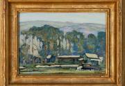Clarence Hinkle California Painting Laguna