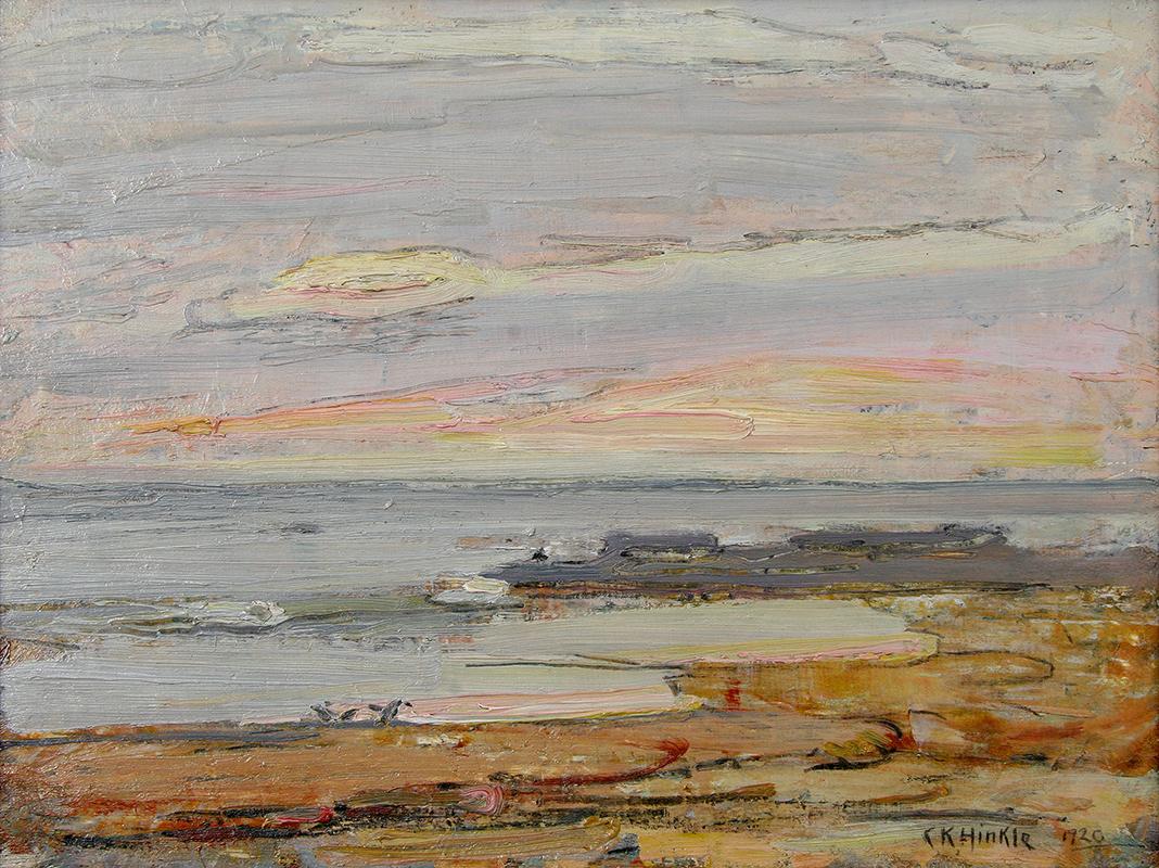 clarence-hinkle-laguna-painting