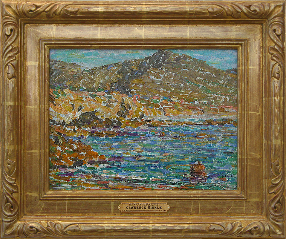 clarence-hinkle-california-painting