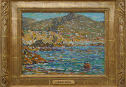 Clarence Hinkle California Painting