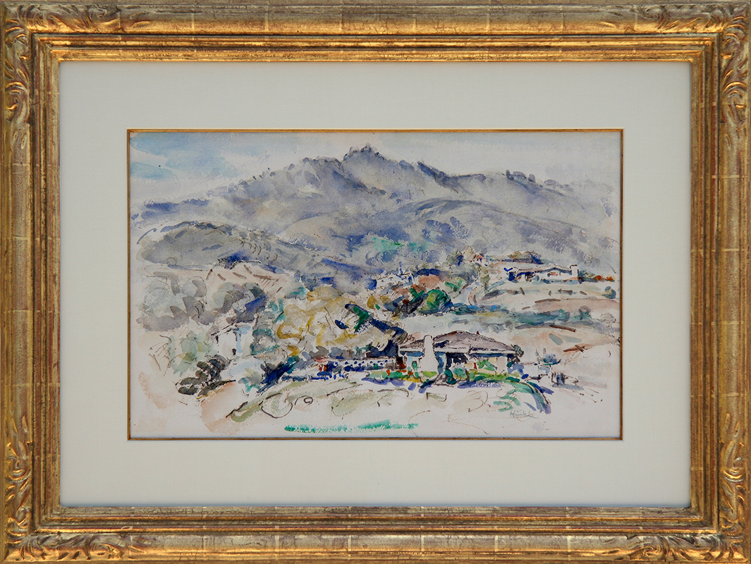 clarence-hinkle-painting-framed