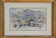 Clarence Hinkle Painting Framed