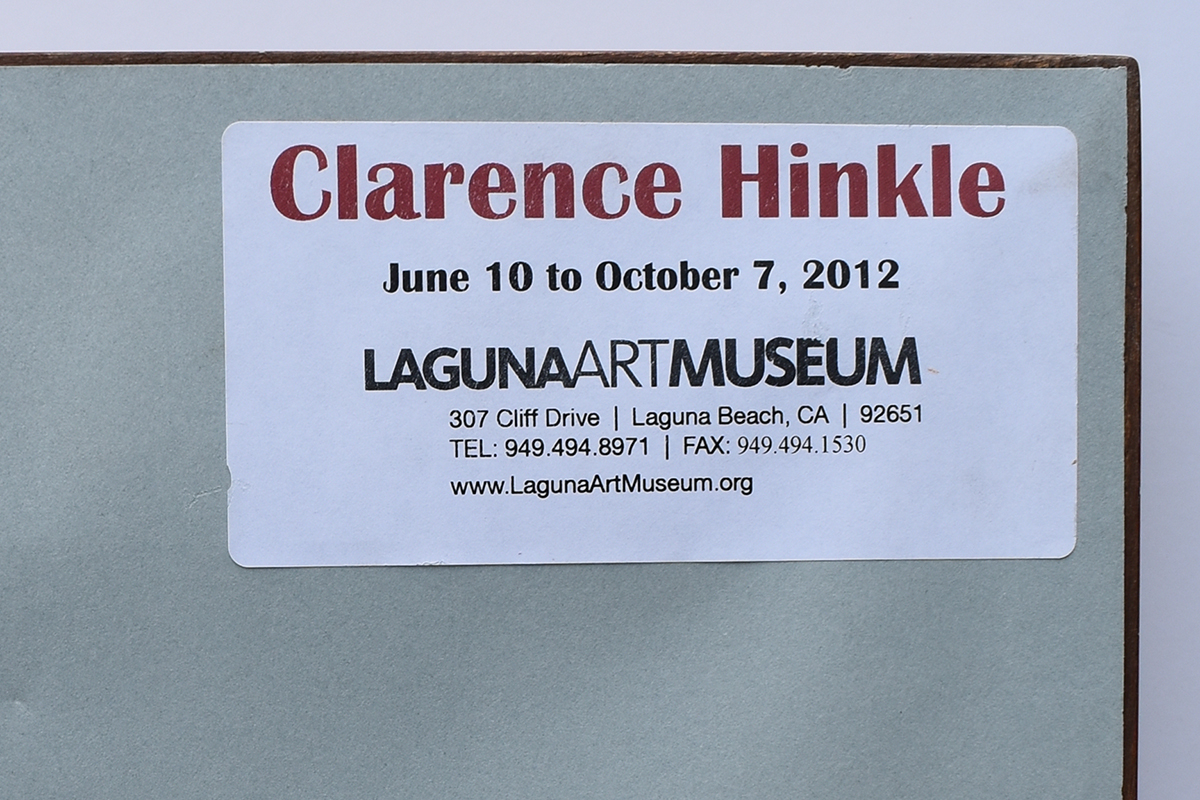 clarence-hinkle-museum-label