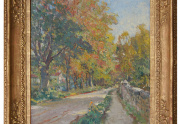 Colin Campbell Cooper Painting