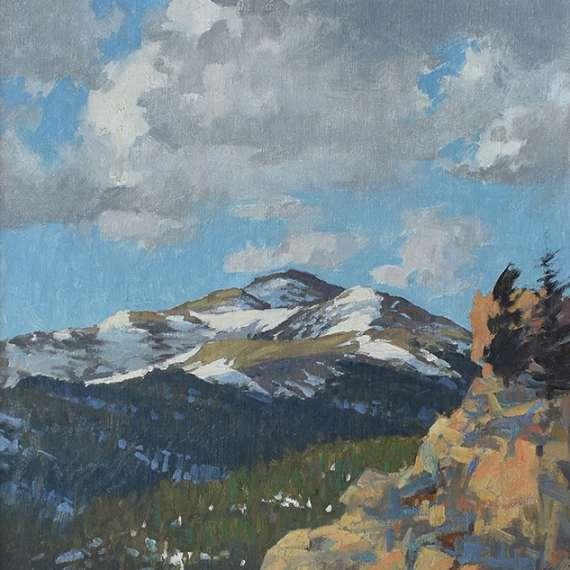 David Banford 'Spring Slopes'