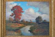 Dedrick Stuber Painting Framed