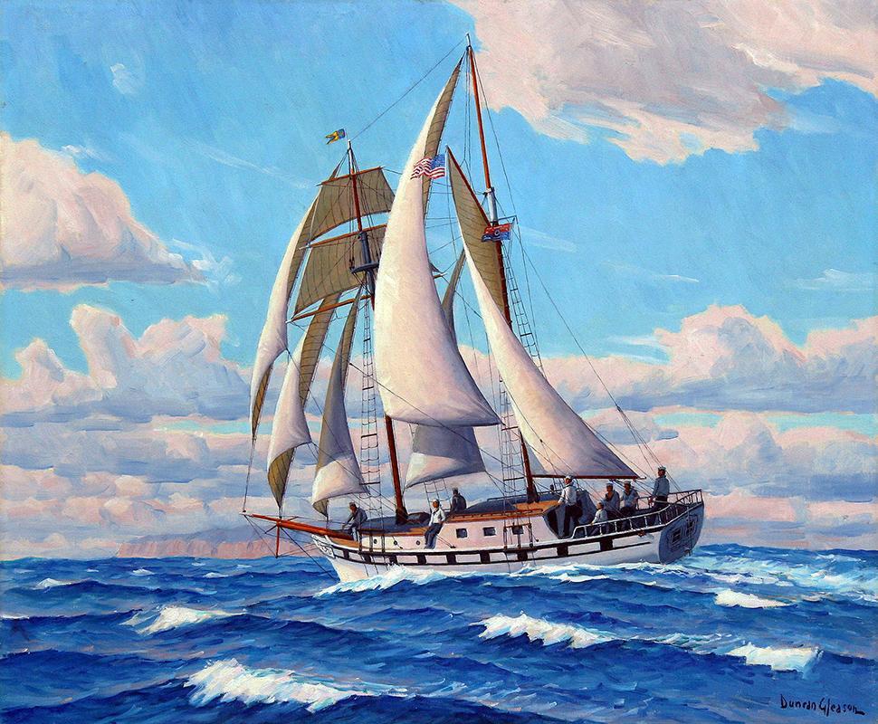 duncan-gleason-painting