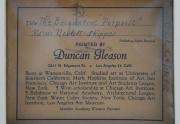 Duncan Gleason Painting Label