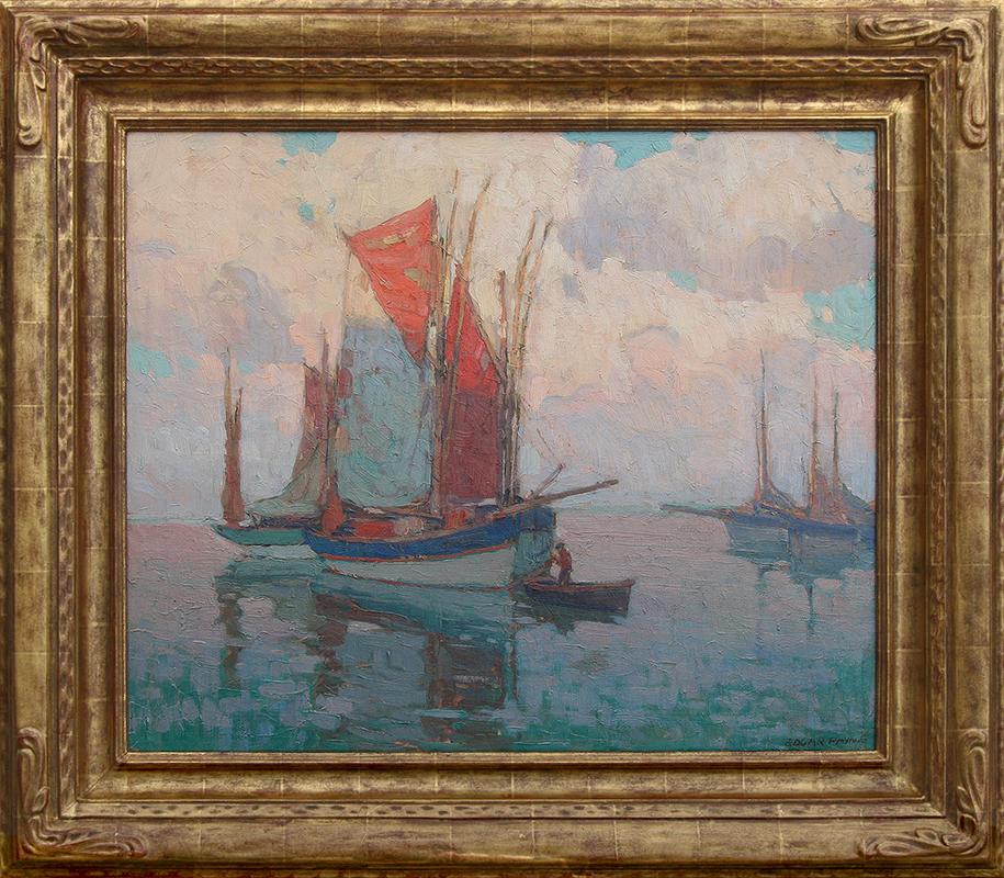 edgar-payne-brittany-boats
