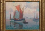 Edgar Payne Brittany Boats