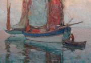 Edgar Payne Painting Close Up