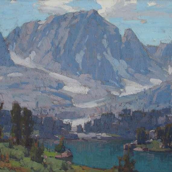 Edgar Payne 'Big Pine Lake'