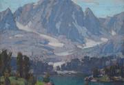 Edgar Payne Big Pine Lake Painting