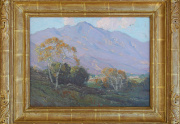 Edgar Payne Foothills Painting