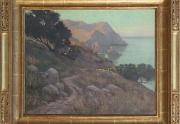 Elmer Wachtel Catalina California Painting