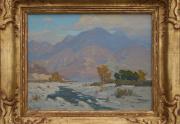 Elmer Wachtel Painting Framed