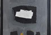 Emerson Woelffer painting framed
