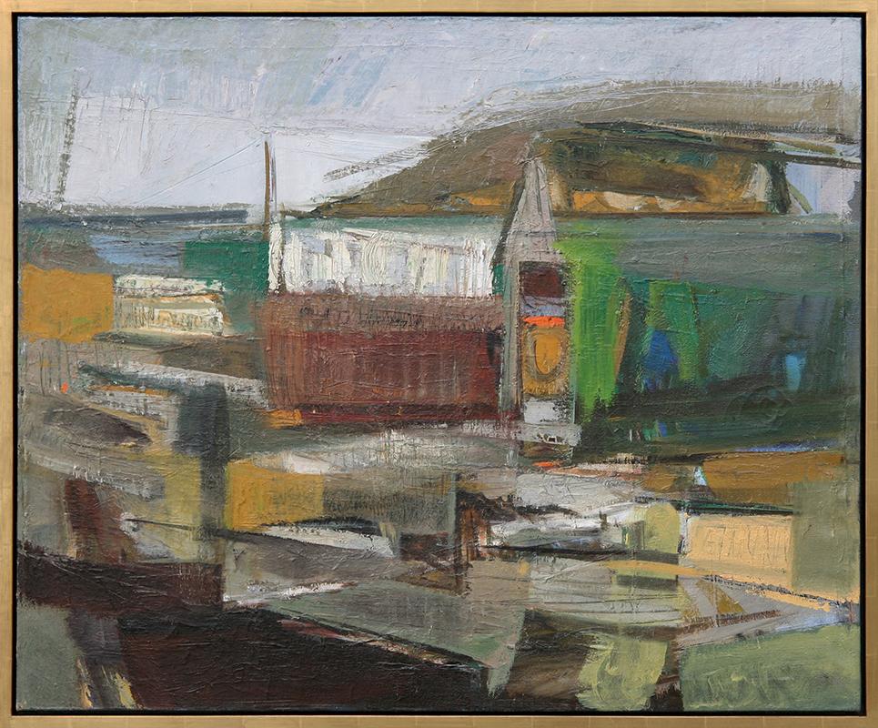 Emiko Nakano painting framed