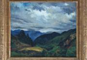 Emil Kosa Painting Back