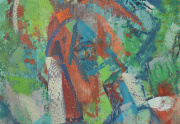 Erle Loran Abstract Painting