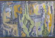Erle Loran Painting Framed