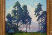 Ferdinand Burgdorff California Painting