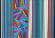 Frank Hamilton Abstract Painting