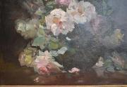 Franz Bischoff Painting Closeup