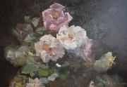 Franz Bischoff Painting Close Up
