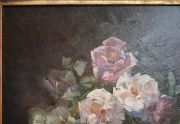 Franz Bischoff Roses Painting Close Up