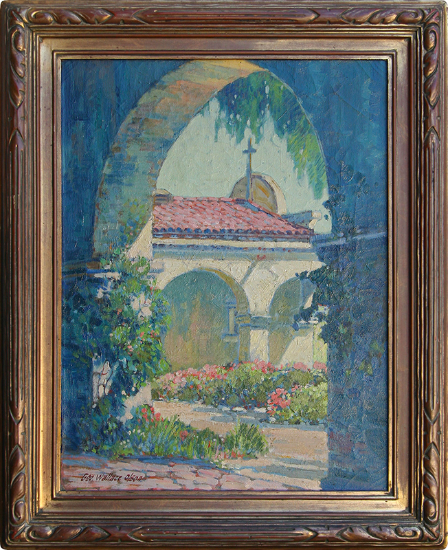 george-wallace-olson-california-painting