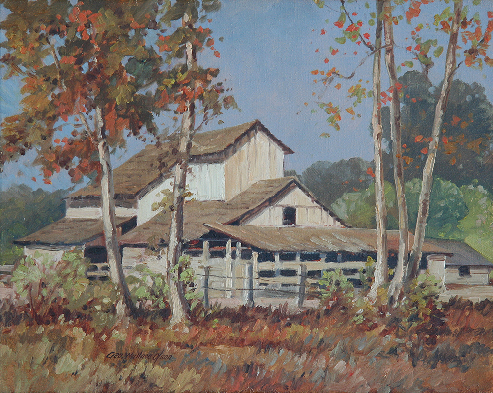 george-wallace-olson-painting