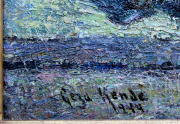 Geza Kende Painting Signature