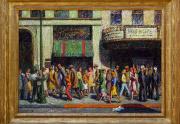 Geza Kende Painting Framed