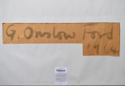 Gordon Onslow Ford Painting Signature